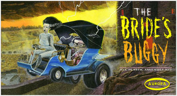 Bride Of Frankenstein The Bride's Buggy Aurora Fantasy Box