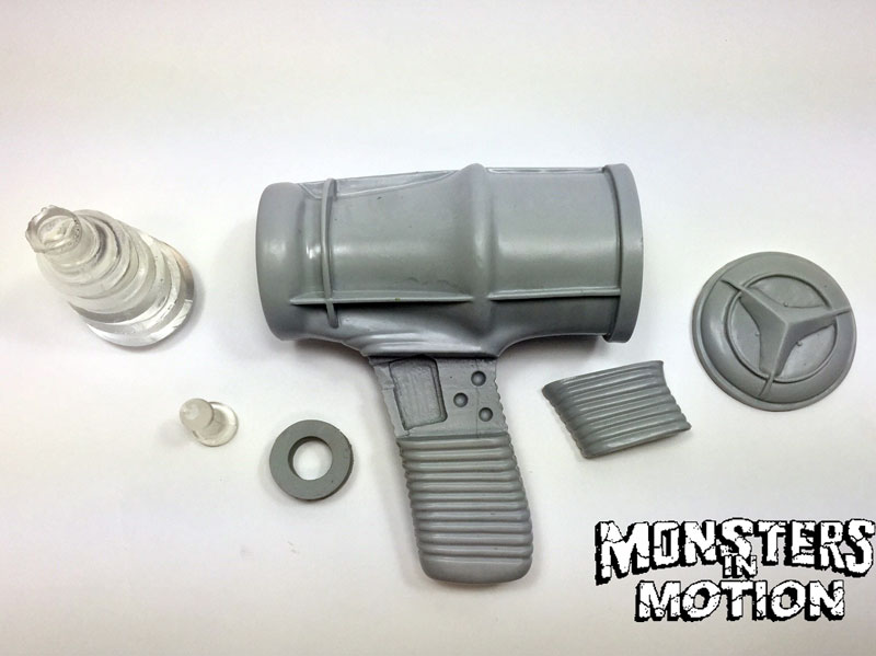 Robby Blaster Ray Gun Unassembled Model Kit