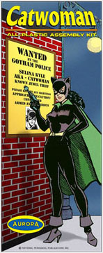 Batman Catwoman 1960's Comic Series Aurora Fantasy Box