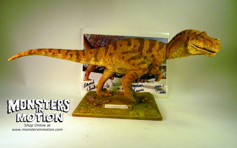 ChiodoSaurus Built Dinosaur by The Chiodo Brothers Studios