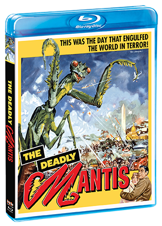 Deadly Mantis 1957 Blu-Ray