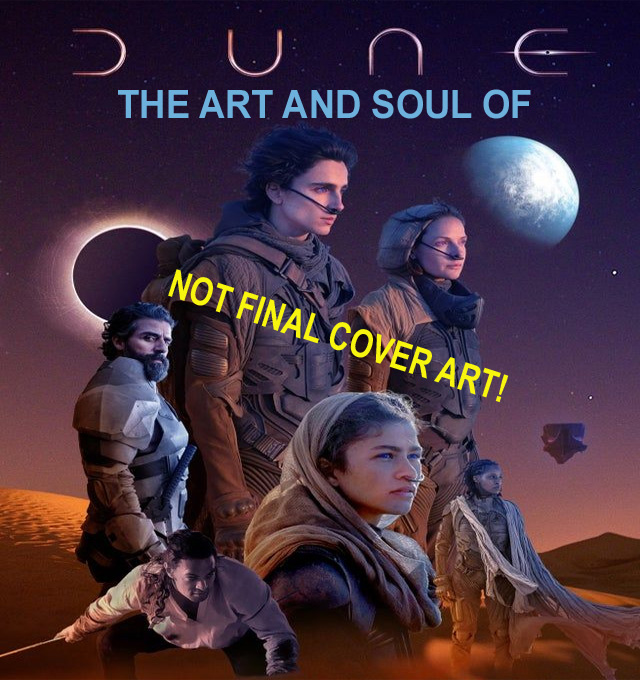 Dune 2020 The Art and Soul Of Dune Hardcover Book