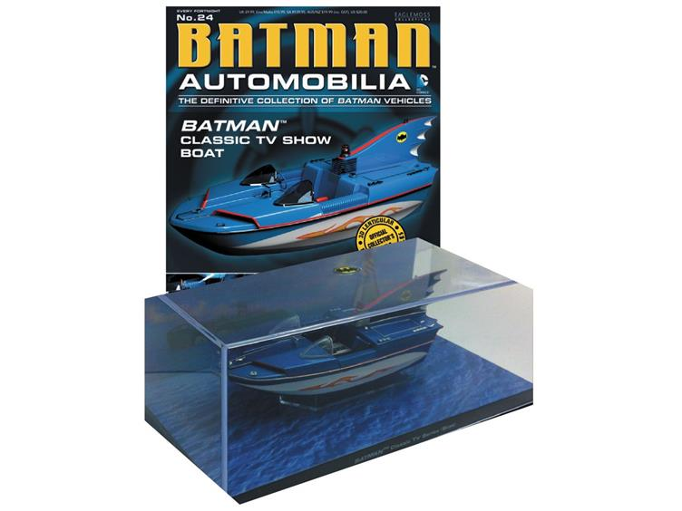 Batman TV Series 1966 Batboat with Collector Magazine