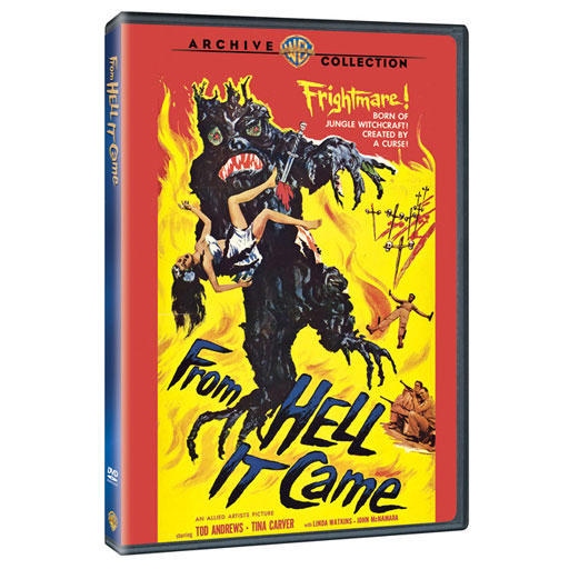 From Hell It Came 1957 Widescreen DVD Tobonga