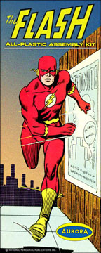 Flash 1960's Comic Series Aurora Fantasy Box