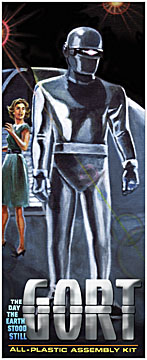 Gort Day the Earth Stood Still Aurora Fantasy Box