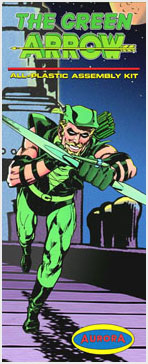 Green Arrow 1960's Comic Series Aurora Fantasy Box