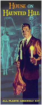 House On Haunted Hill Vincent Price Aurora Horrora Fantasy Box