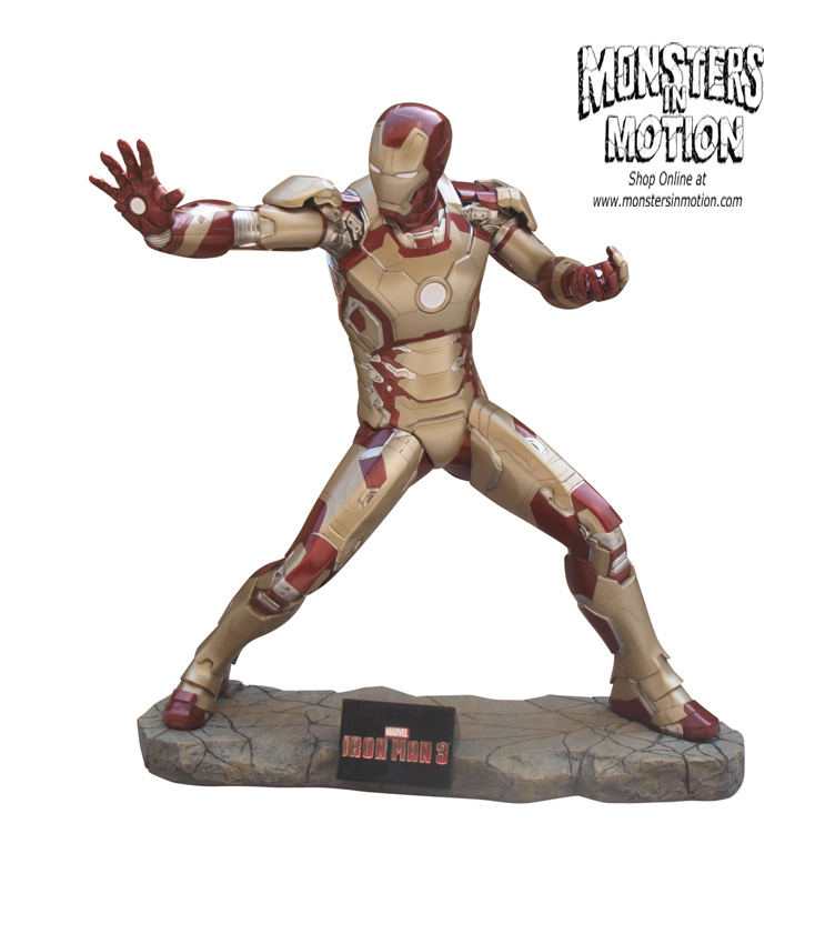 Iron Man 3 Life-Size Statue 1/1 Scale