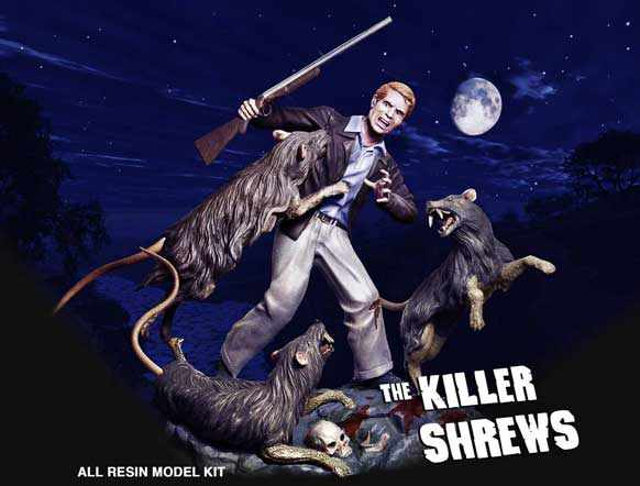Killer Shrews Diorama Model kit