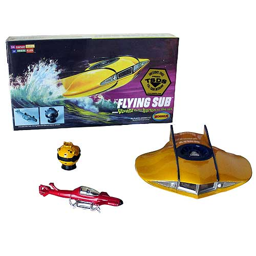Voyage to the Bottom of the Sea Flying Sub 1/128 Model Kit