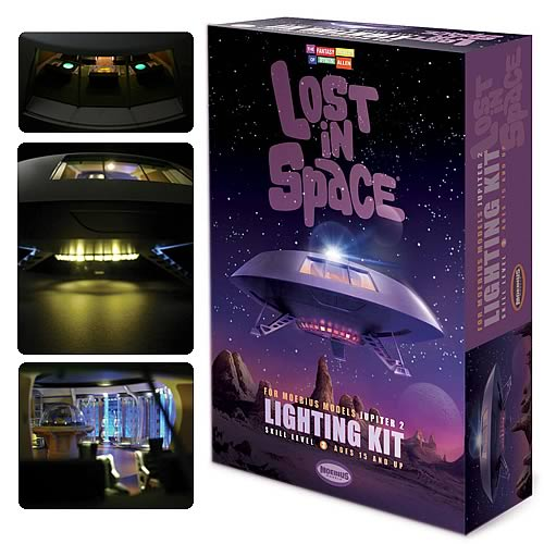 "Lost in Space Jupiter 2 II Lighting Kit For 18"" Moebius Model Kit"
