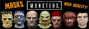 Universal Monsters MasksBbanner