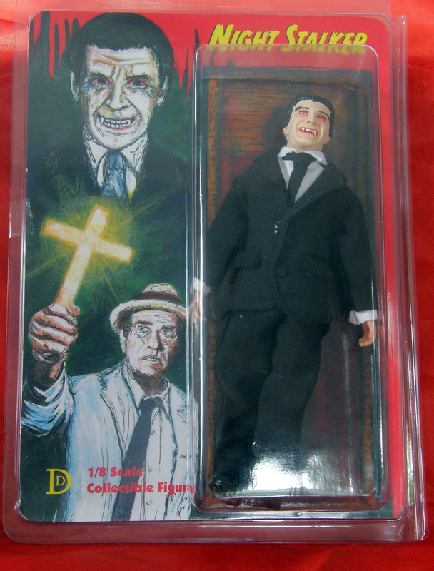 "Night Stalker Janos Skorzeny 8"" Retro Mego Style Figure Limited to 50"