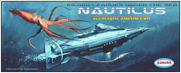 20,000 Leagues Under The Sea Nautilus Aurora Fantasy Box
