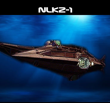 20,000 Leagues Under the Sea Nautilus 1/144 Custom Lighting Kit for Pegasus Model Kit