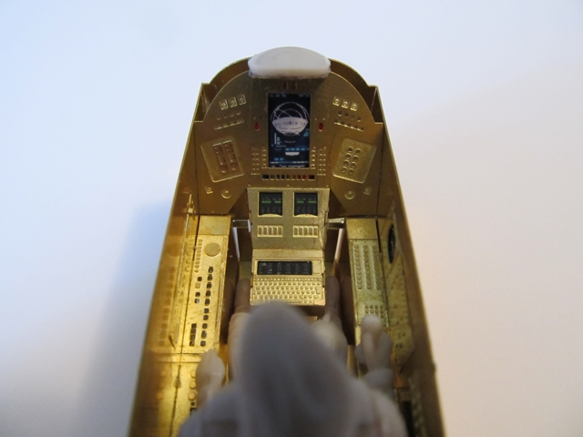 Battlestar Galactica 2003 Colonial Viper MK VII 1/32 Scale Model Cockpit Photoetch Set for Moebius - Click Image to Close