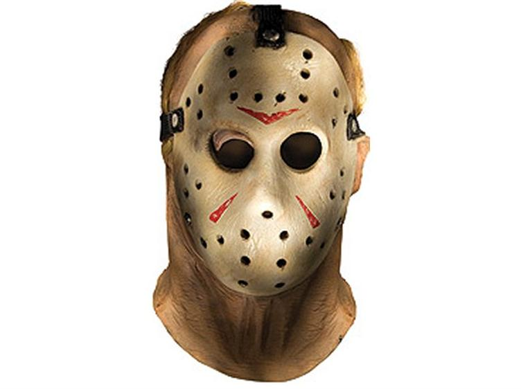Friday The 13th Jason Voorhees Latex Mask
