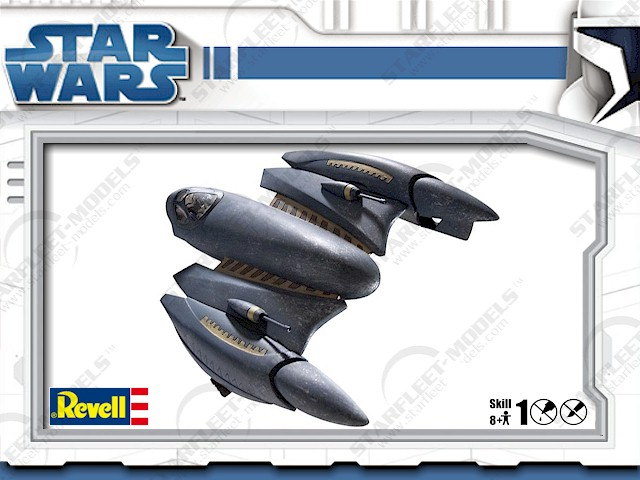 Star Wars General Grievous' Starfighter Model Kit-1/32 Scale