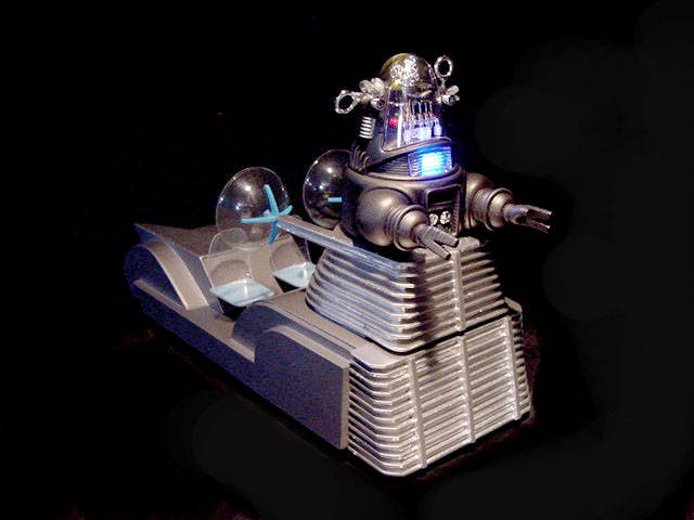 Forbidden Planet Robby the Robot Robby's Taxi Car Model Kit for Polar Lights