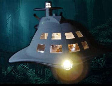 Voyage To The Bottom Of The Sea Seaview Motion Picture 1/128 Scale LIGHTING KIT