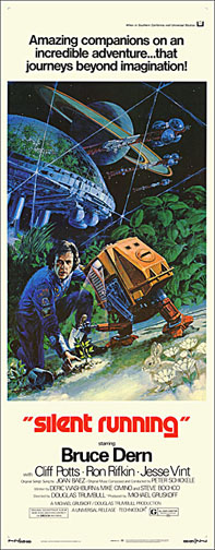 Silent Running 1972 Repro Insert Movie Poster 14X36