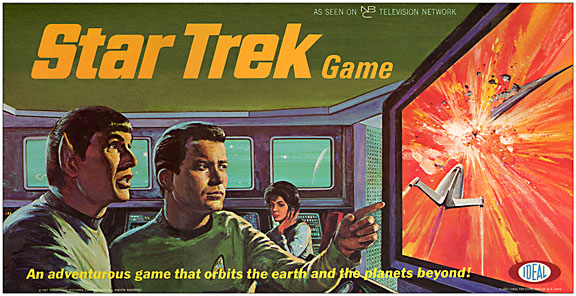 Star Trek - 1967 Board Game Reproduction Box