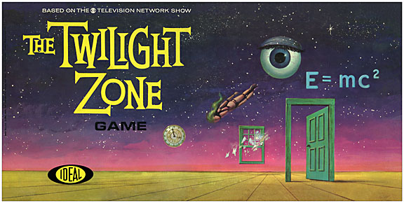 Twilight Zone Game 1964 Board Game Reproduction Box
