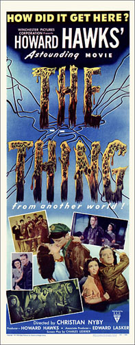 Thing From Another World 1951 Repro Insert Poster 14X36