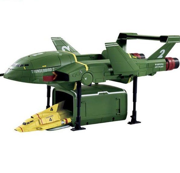 Thunderbirds SUPER-DX Thunderbirds 2 & 4 SUPERSIZE / Takara Import