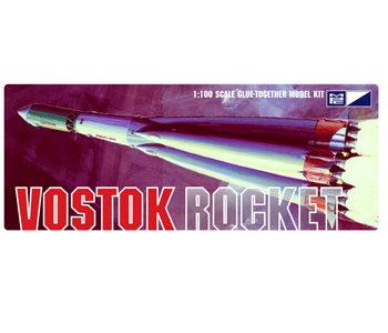 Vostok Rocket MPC Model Kit