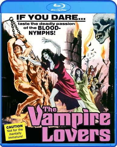 Vampire Lovers 1970 Blu-Ray