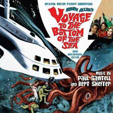Voyage to the Bottom Of the Sea Soundtrack CD 50th ANNIVERSARY LIMITED EDITION