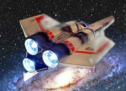 Battlestar Galactica 1978 Colonial Viper MK I Model Lighting Kit for Monogram / Revell