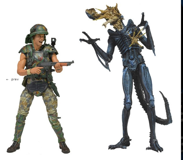 "Aliens 7"" Figure 2 Pack Hicks Vs. Warrior OUT OF PRODUCTION"
