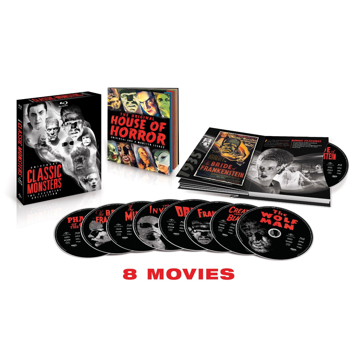 Universal Classic Monsters: Essential Collection Blu-Ray