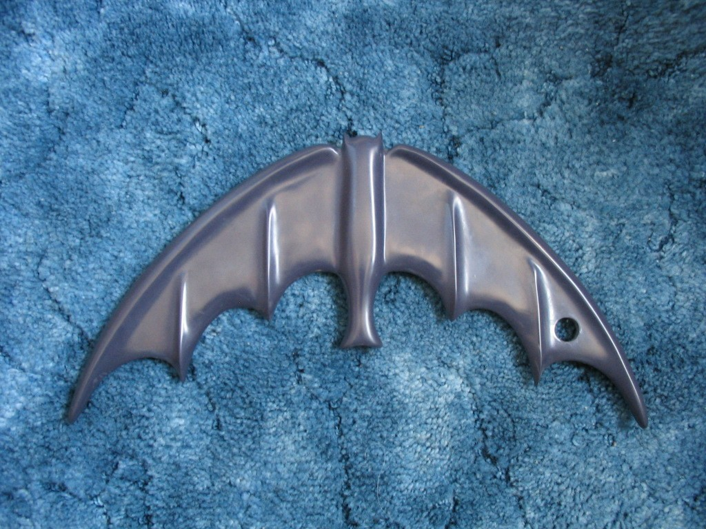 1966 Non-Folding Black Bat Boomerang Prop Replica