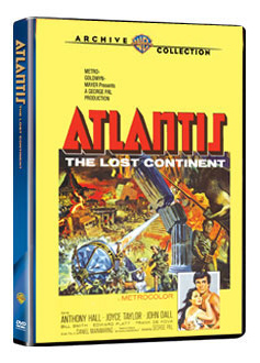 Atlantis The Lost Continent 1961 DVD