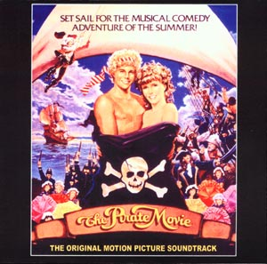 Pirate Movie, The Soundtrack CD Kristy McNichol