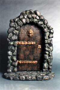 Innersanctum 1/6 Scale Door Model Kit for Customizing