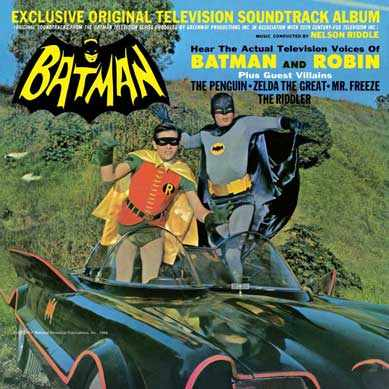 Batman 1966 Soundtrack CD Nelson Riddle