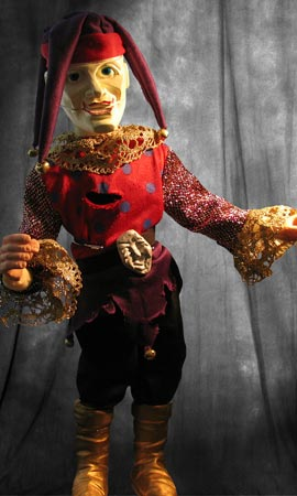 Puppet Master Battle Damaged 1/1 Jester Ltd Ed Prop Replica