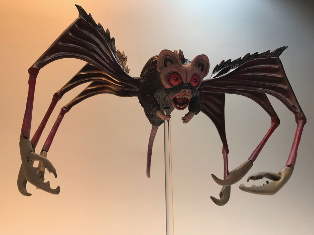 Angry Red Planet Bat Rat Resin Model Kit