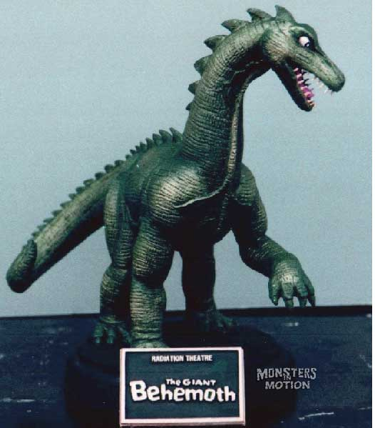 Giant Behemoth 1959 Radiation Theatre Resin Model Kit