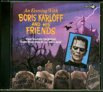 Evening with Boris Karloff and Friends Soundtrack CD
