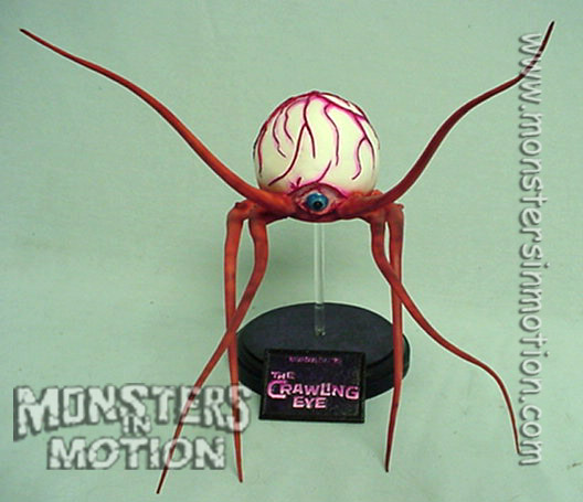 Crawling Eye 1958 Radiation Theatre Resin Model Kit