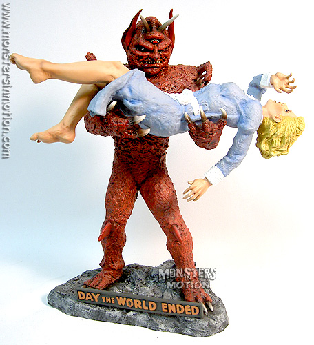 Day The World Ended Mutant With Girl 1/6 Scale Model Kit