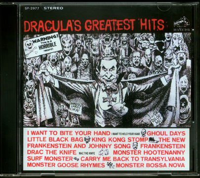 Dracula's Greatest Hits CD Soundtrack Monster Parodys