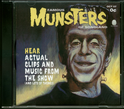 Munsters Famous Munsters of Songland Soundtrack CD