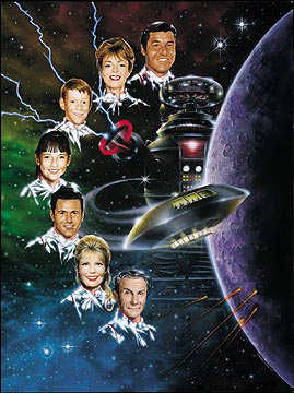 Lost In Space Classic Family Lithograph